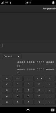 GNOME Calculator: Programming Mode