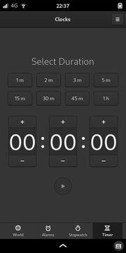 GNOME Clocks: Timer