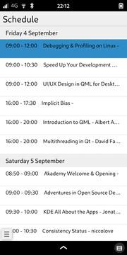Kongress: Schedule Overview